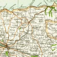 1900 Map of North Devon
